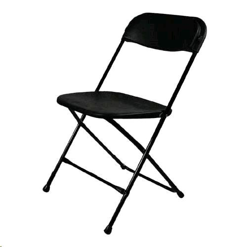 Where to find CHAIR, BLACK FOLDING in Harleysville