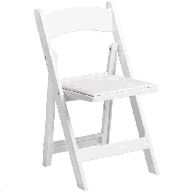 Where to find CHAIR, WHITE PADDED in Harleysville
