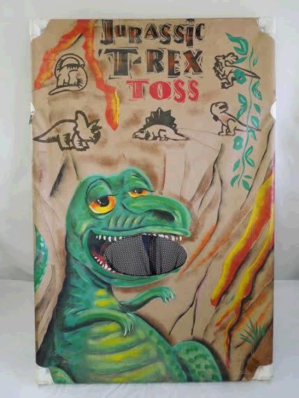 Where to find STAND-UP TOSS GAME, JURASIC T-REX in Harleysville