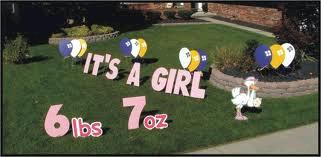 Where to find YARD SIGNS - IT S A GIRL in Harleysville